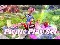 VERSUS: DIY Picnic Play Set VS Barbie Picnic Play Set