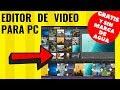 🥇 EDITOR DE VIDEO [ GRATIS ] para PC WINDOWS 2019 | Pocos requisitos | Sin marca de agua