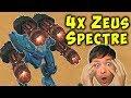 Heavy Weapon ZEUS SPECTRE - War Robots Fun Skirmish Gameplay WR