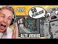 SO haben ALPHASTEIN und ich uns Kennengelernt! ALTE VIDEOS aus 2015! mit Alphastein!!