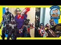 SPOOKY MONSTERS IN THE CLOSET | NERF NATION | DEION'S PLAYTIME