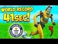 *WORLD RECORD* FASTEST COMBINE RUN!! – Fortnite Funny Fails and WTF Moments! #695