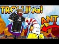 TROLLING A FAMOUS ROBLOX YOUTUBER ON SUPER POWER TRAINING SIMULATOR! (ROBLOX)