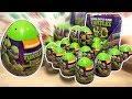 Teenage Mutant Ninja Turtles 2 video TMNT movie nickelodeon 18 Surprise Eggs #68