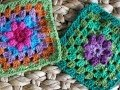 Вязание крючком квадрата: 60 схем! .Crochet square: 60 schemes!