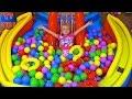 ОГРОМНЫЙ БАССЕЙН С ШАРИКАМИ Ищем Сюрпризы МНОГО ИГРУШЕК Видео для детей ЧЕРЕПАШКИ-НИНДЗЯ