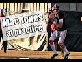 Watch Mac Jones and Taulia Tagovailoa practice before Western Carolina
