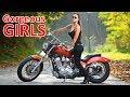 Beautiful Girls on Motorcycles