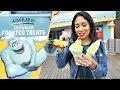 New Adorable Snowman Frosted Treats at Pixar Pier! | Disney California Adventure