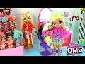 Мультик Куклы ЛОЛ в салоне красоты OMG LOL Surprise Fashion Dolls Распаковка Lady Diva