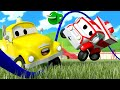 The Skipping Rope Accident ! - Baby Cars in Car City   Cartoons for Kids