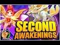 SUMMONERS WAR : All Second Awakening Skills Review (Pixie, Warbear, Inugami, Fairy)