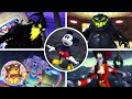 All Boss Fights & Final Boss - Disney Epic Mickey (Mickey Mouse and the Magic Brush) [1080p]