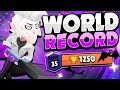THE WORLD RECORD MORTIS! - This Pro Player Reached Rank 35 | 1250 Trophies | With Mortis!