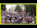 Media IGNORES MASSIVE Crowd In London SUPPORTING Trump