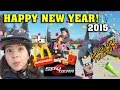 HAPPY NEW YEAR VLOG! McDonald's Spy Gear Happy Meals & DaddyTube Parkour!