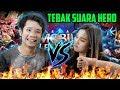 JESS VS JESSICA!! TEBAK SUARA HERO MOBILE LEGENDS!!