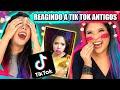 REAGINDO AOS NOSSOS TIK TOK ANTIGOS! *Rimos muito* | Blog das irmãs