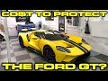 Cost to protect 2018 Ford GT? XPEL Install Modesta Coating Hughs Detailing in Miami