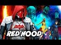 Young Justice Season 3 Red Hood Scene and Batman Damian Wayne Easter Eggs