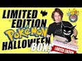 Opening Official Pokemon Halloween Limited Edition Items! (Japan)