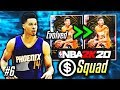 NO MONEY SPENT SQUAD!! #6 | WE EVOLVED ONE OF THE ALL TIME 2K GREATS NBA 2K20 MyTEAM!!
