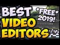 BEST FREE Video Editing Softwares (2020/2019 EDITION) 📽️ NO WATERMARKS