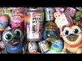 Surprise Toys ❤ Slime Sparkly Critters unicorn Baby Born Kinder egg Peppa