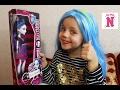 Монстер Хай кукла Примеряем парик Гулии Йелпс Кукла Спектра Вандергейст Макияж Monster High toys