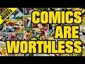 Why Comics & Collectables Are Mostly Worthless