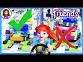 Lego Friends Spinning Brushes Car Wash Build Review Silly Play Kids Toys