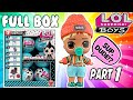 Boy LOL Dolls! LOL Surprise Boys Series Full Box Opening Pt. 1 LOL Doll Videos (L.O.L. Surprise!)