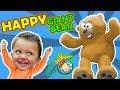 The Amazing 6ft TEDDY BEAR FUNnel Family Vlog
