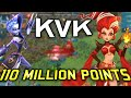 Reaching 110 MILLION Points by GARRISON trapping! - Lords Mobile KvK