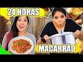 24 HORAS COMENDO SÓ MACARRÃO! | Blog das irmãs
