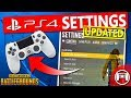 PUBG PS4 Settings - UPDATED- January Patch - PlayerUnknown's Battlegrounds PlayStation Tips & Tricks