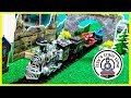 Toy Trains for Kids! MILITARY TRAIN FAIL!