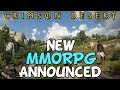 New Black Desert Successor Announced! - Crimson Desert MMORPG