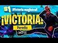 """VICTORIA"" | Daddy Yankee - Dura | PARODIA FORTNITE: BATTLE ROYALE | @TehSinapsis"