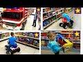 Машинки Игрушки Шоппинг для детей Все серии подряд Kids Toys Shopping Hunt