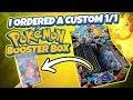 I Ordered a Custom 1/1 Pokemon Booster Box