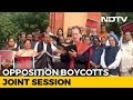"""We The People..."": Sonia Gandhi At Opposition's Constitution Day Protest"