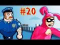 ВОРИШКА БОБ [20] НУ ОЧЕНЬ СМЕШНОЙ КОСТЮМ ЗАЙЦА Приключения воришки в игре Robbery Bob