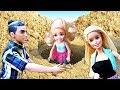 Семья Барби приехала на пикник - Челси потерялась! Куклы Барби - Видео для девочек