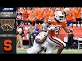 Western Michigan s. Syracuse Condensed Game | ACC Football 2019-20