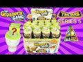 Grossery Gang Series 5 Time Wars Flush N Fizz Blind Toilets TOY HUNT/UNBOXING/REVIEW