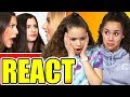 "Gracie & Sierra REACT to ""Good Connection"" by Davis Sisters"