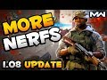 Modern Warfare: 1.08 Update Patch Notes | More Nerfs & Footstep Changes