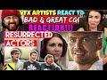 VFX Artists React to RESURRECTED ACTORS Bad & Great CGi - REACTION!!!