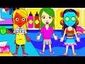 Играем в MY CITY #6 MY TOWN Мультики для детей Мульфильмы